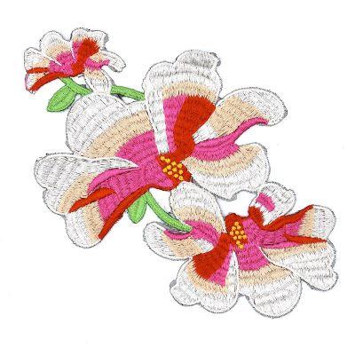Iron-on flower