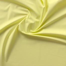 Tissu en coton jaune