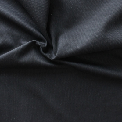 Tissu en coton Emerisé noir