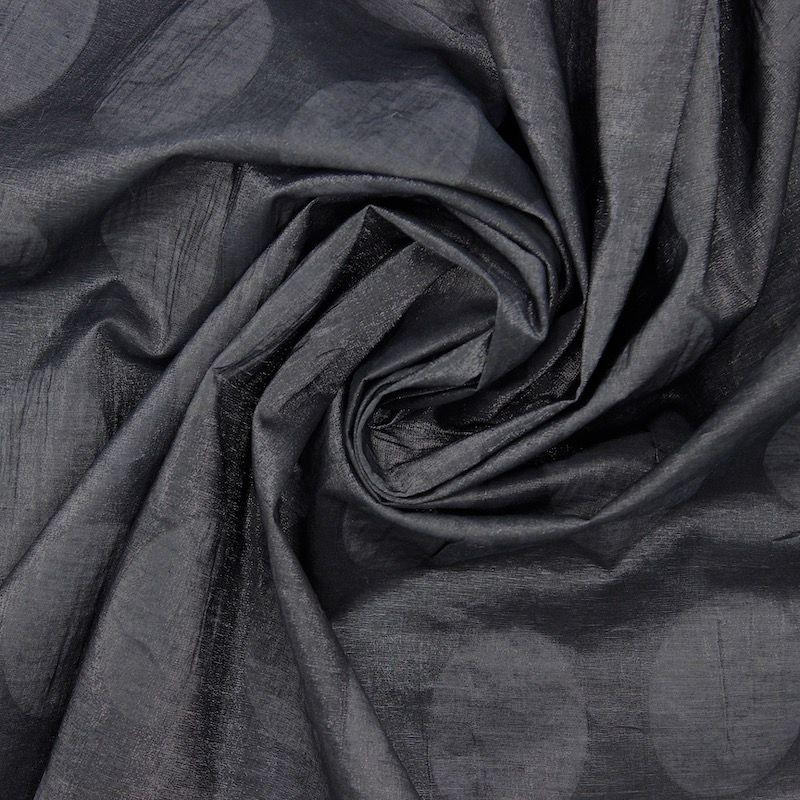 Tissu polyester  - noir