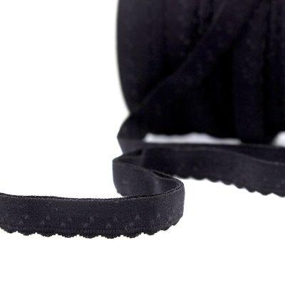 Elastiek voor lingerie 11mm - zwart