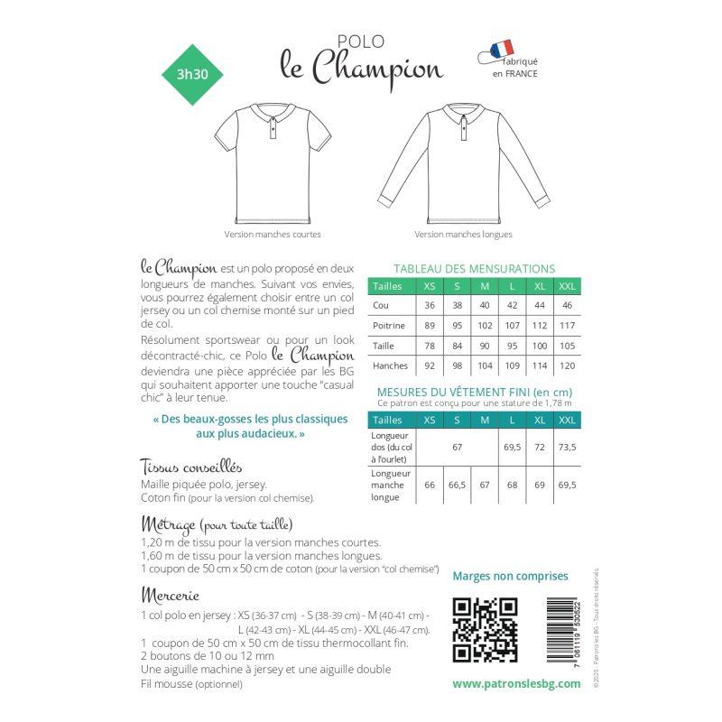Patroon Le Champion polo