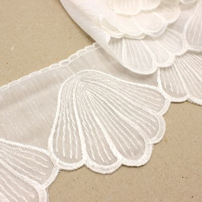 Embroidered veil