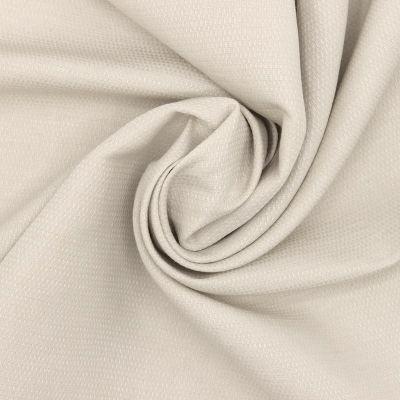 Tissu coton et viscose - beige