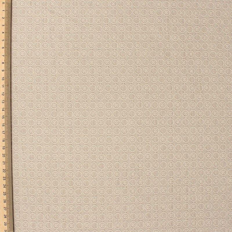 Jacquardstof - beige
