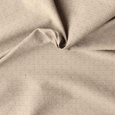 Jacquard fabric - beige
