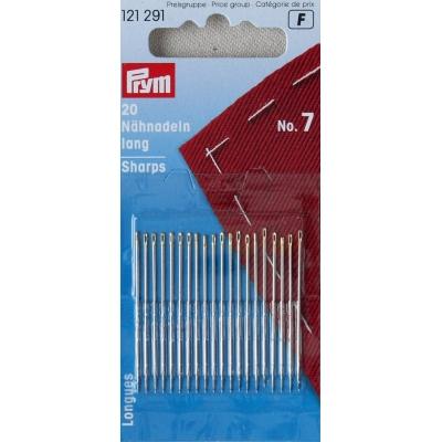 Sewing needles long