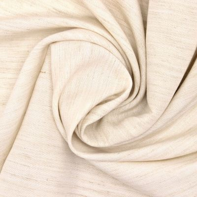 Fabric in cotton and viscose - ecru