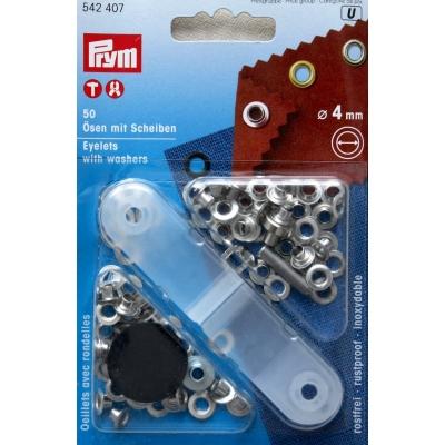 Oogjes met ringen 4mm Prym