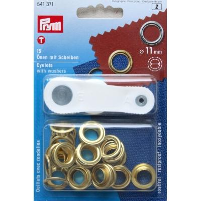 Oogjes met ringen 11mm
