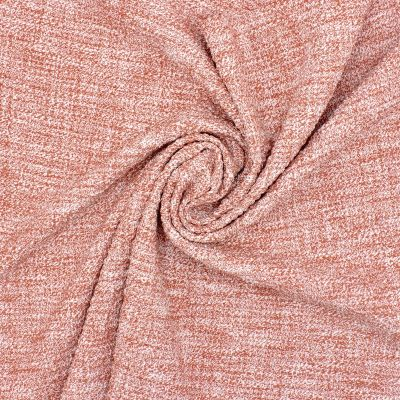 Structured and marbled extensible fabric - pink tea