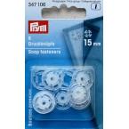18 plastic drukknopen 10mm