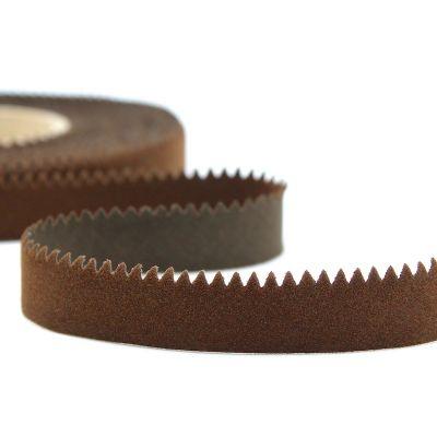 Ruban velours brun