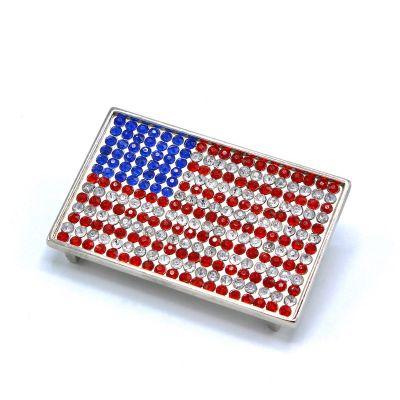 Boucles de ceinture drapeau Américain