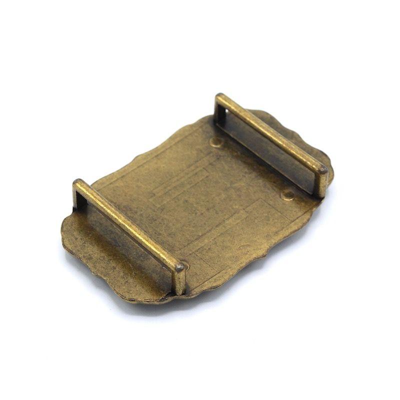 Boucles de ceinture rodéo - bronze