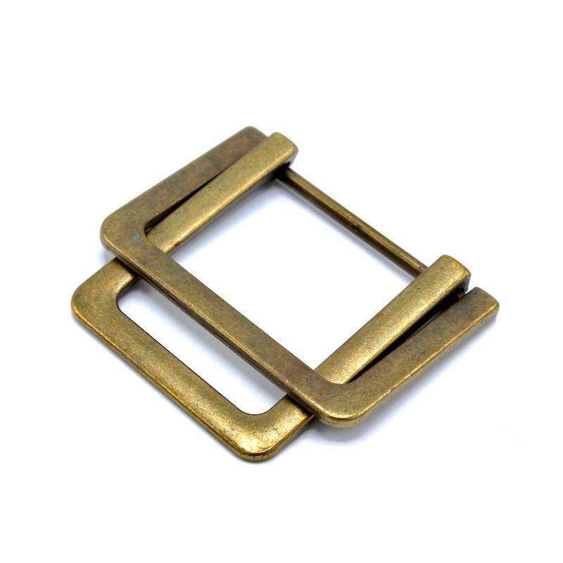 Boucles de ceinture métal - vieil or