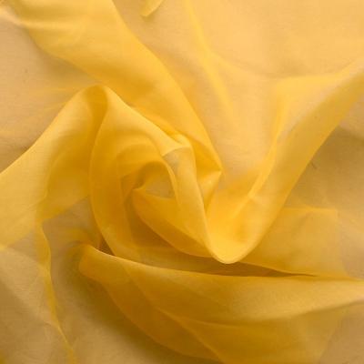 Gele organza