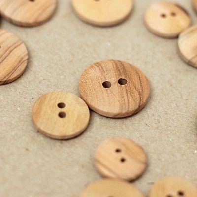 Bouton vintage en bois