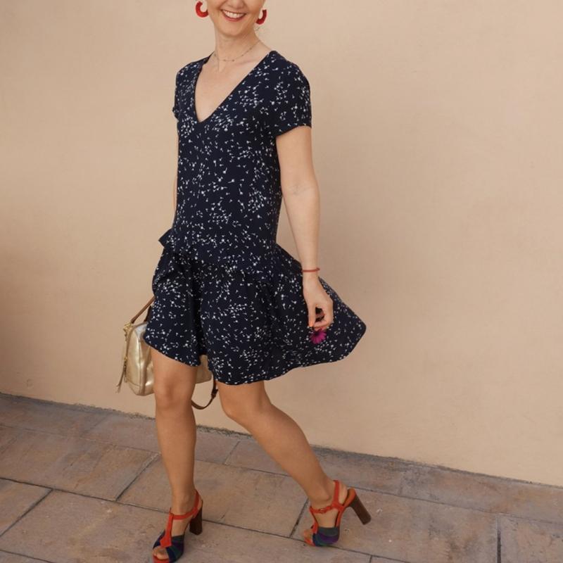 Pattern dress and blous Femme Délice