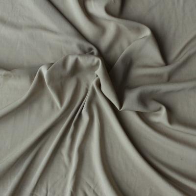 Green silk chiffon