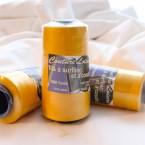 Gele spoel voor naaien en afwerken