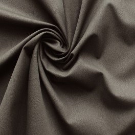 Brown Twill cotton and lycra fabric