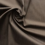 Brown cotton and elasthanne fabric