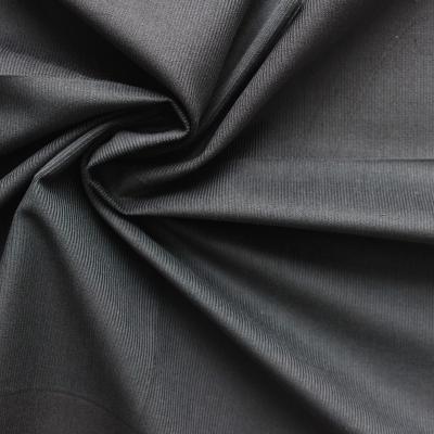Grijs fijn gribbeld fluweel Tissu en velours côtelé gris
