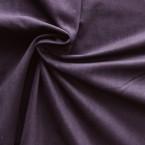 Tissu en velours côtelé mauve