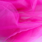 Tulle rose fuschia