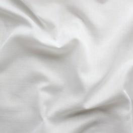 Witte katoen en polyester sluier