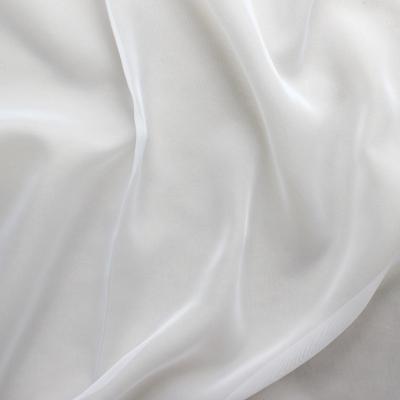 White polyester veil