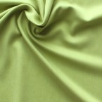 Green Tencel and polyester fabric