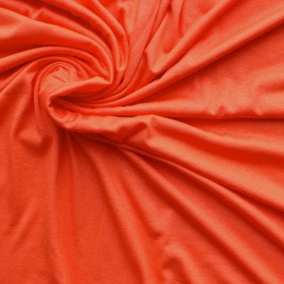 Oranje jersey stof