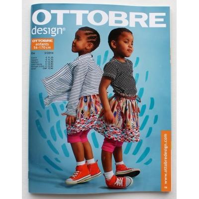 Naaimagazine Ottobre design Kids - Ete 3/2014