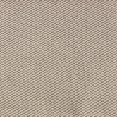 Dark beige twill polyester and cotton fabric