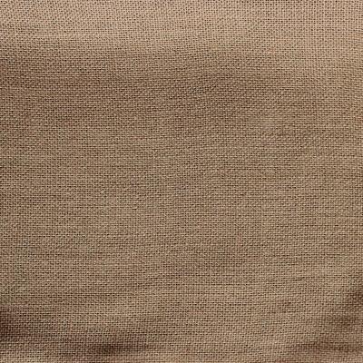 Tissu en lin uni taupe