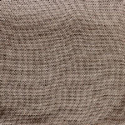 Tissu en lin uni beige