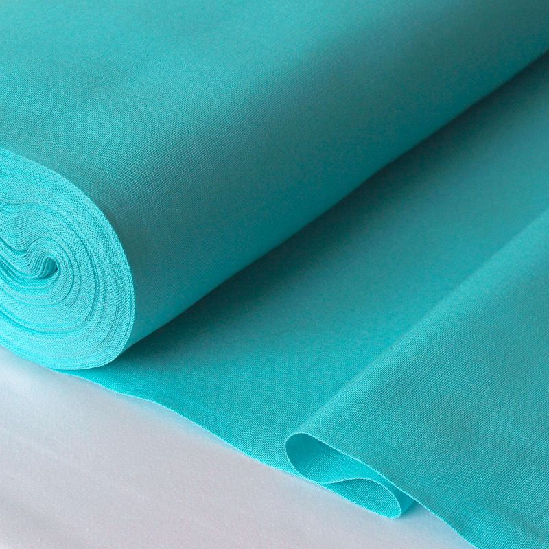 Toile transat en dralon uni turquoise