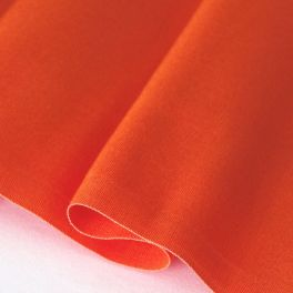 Toile transat en dralon uni orange