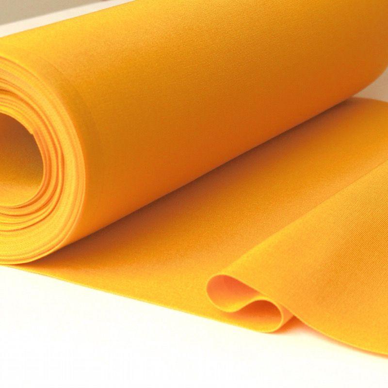 Toile transat en dralon uni jaune