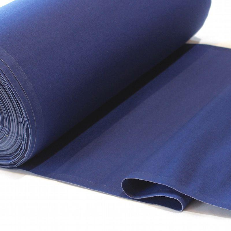 Toile transat en dralon uni bleu