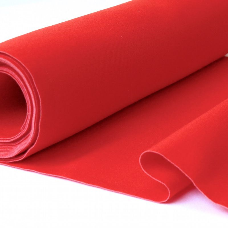 Toile transat en dralon uni rouge