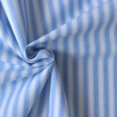 Tissu en coton à rayures larges