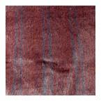 Fausse fourrure à poils courts à lignes rouges sur fond mauve