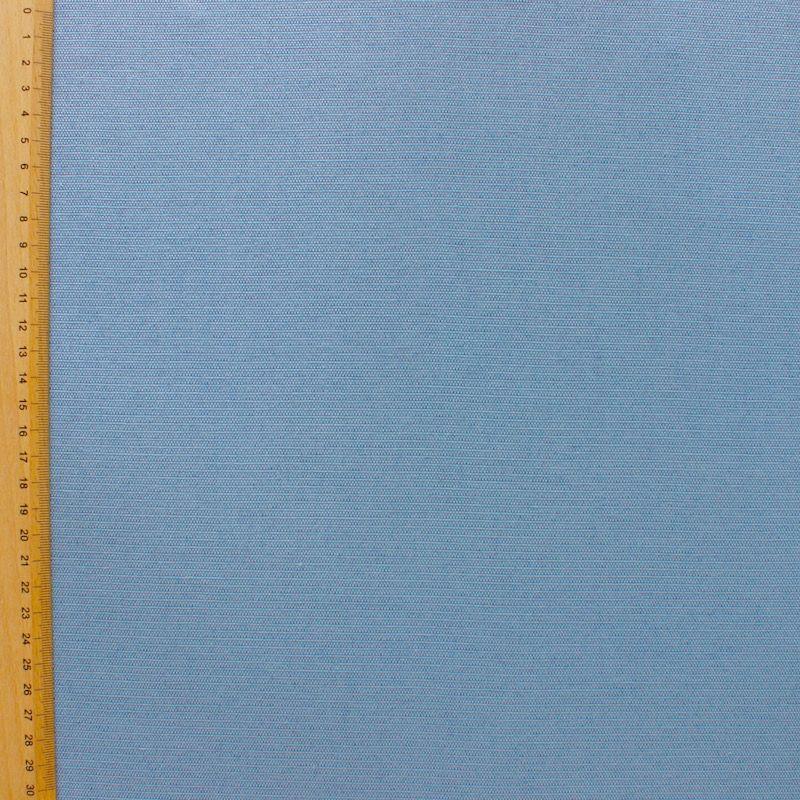 Katoen - effen blauw