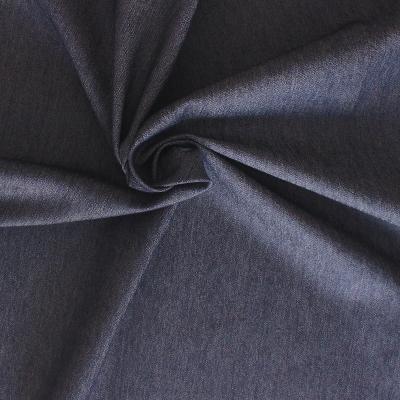 Katoen stof met grijse strepen