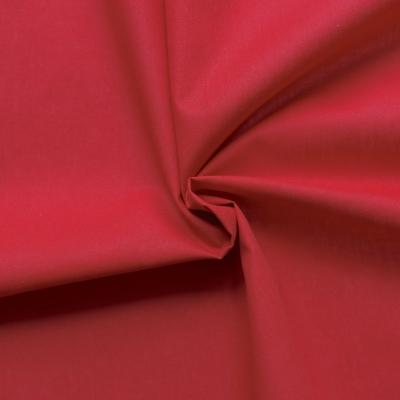 Toile a drap 100% coton rouge