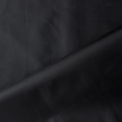 Water-repellent polyester cloth - black