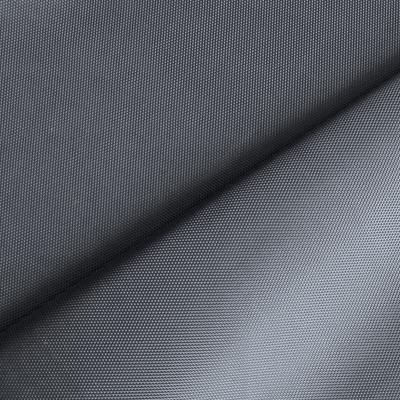 Toile polyester imperméable gris acier